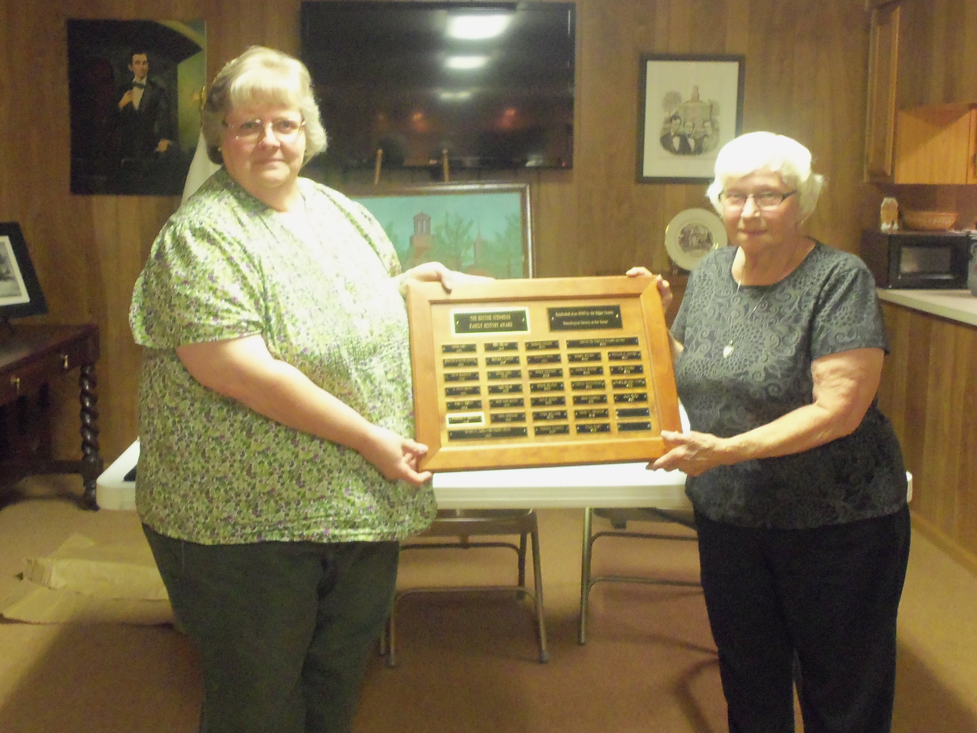 Edythe Stephens Award